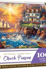 Master Pieces 1000pc Art Gallery Above the Fray