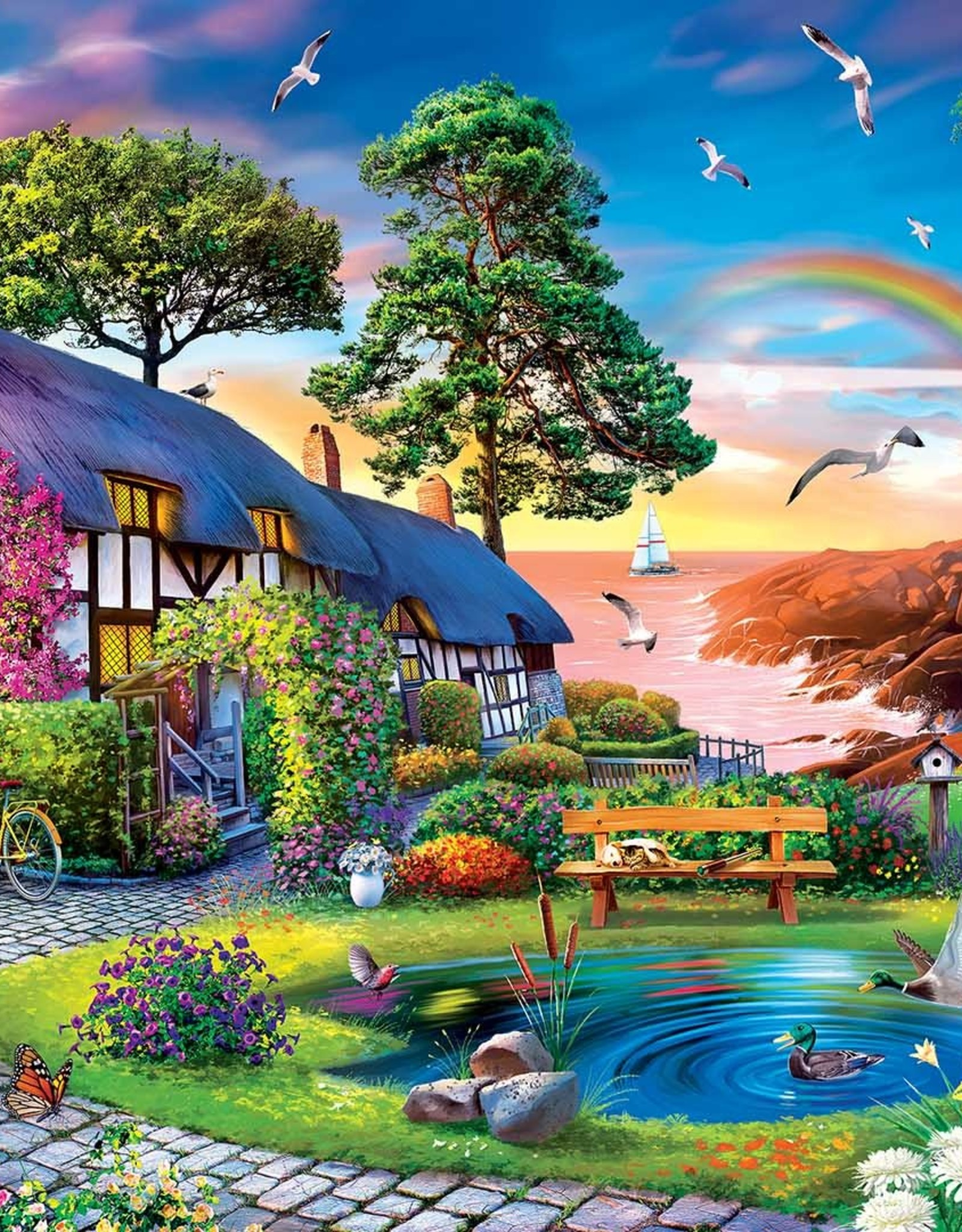 Master Pieces 1000pc Retreat Over the Rainbow
