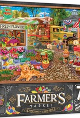 Master Pieces 750pc Farmer's Market Sale on the Square