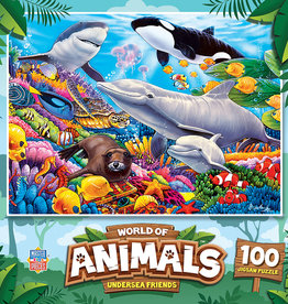 Master Pieces 100pc Undersea Friends