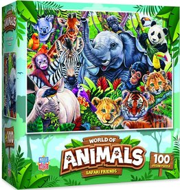 Master Pieces 100pc Safari Friends