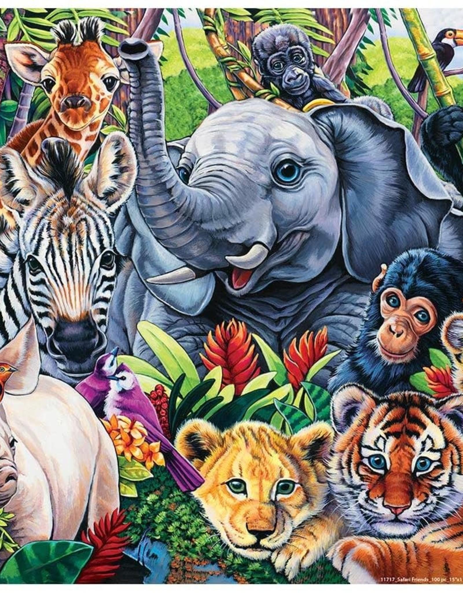 Master Pieces 100pc Safari Friends