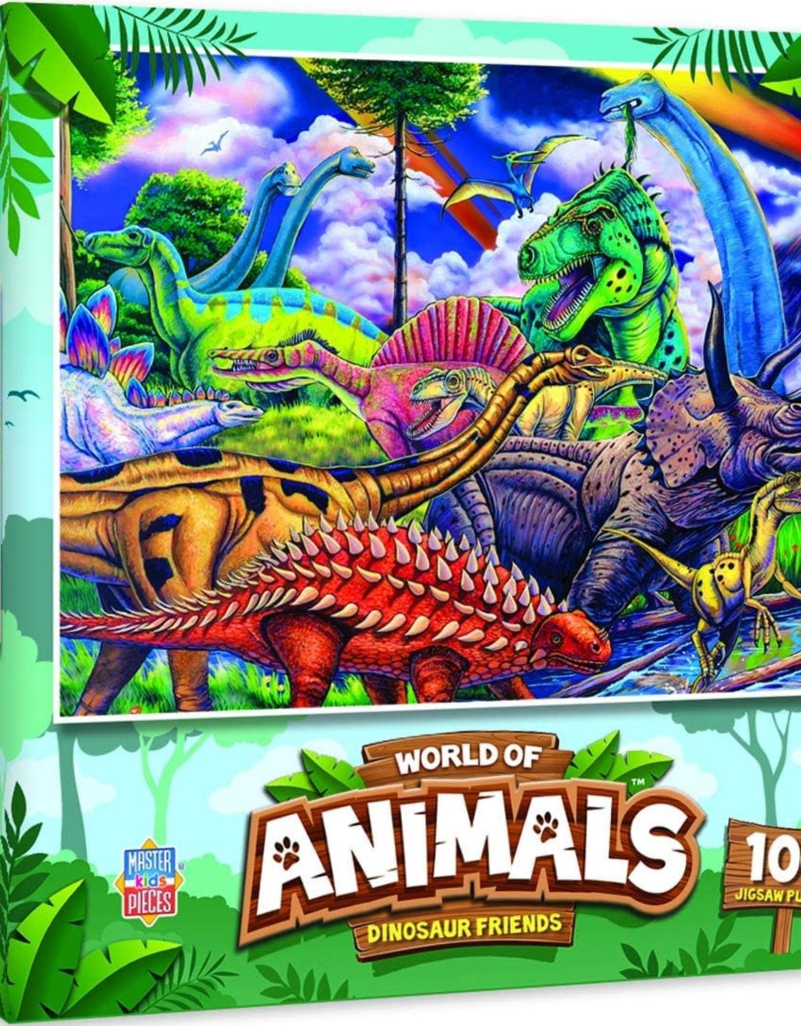 Master Pieces 100pc Dinosaur Friends