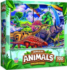 Master Pieces 100pc Dinosaur Friends