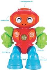 Kidoozie Lights 'n Sounds Robot