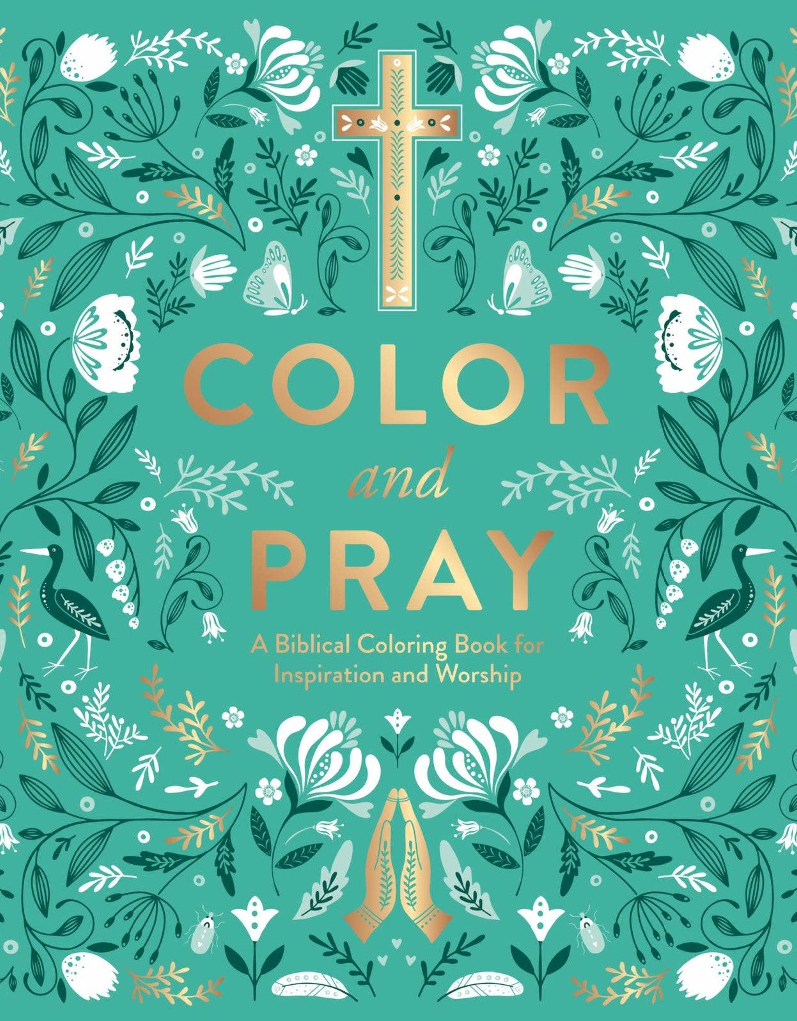 Color and Pray Coloring Book