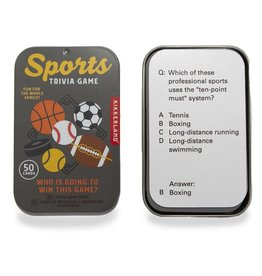 Kikkerland Sports Trivia Game