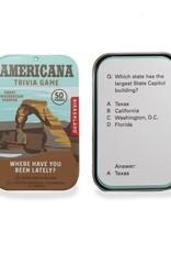 Kikkerland Americana Trivia Game