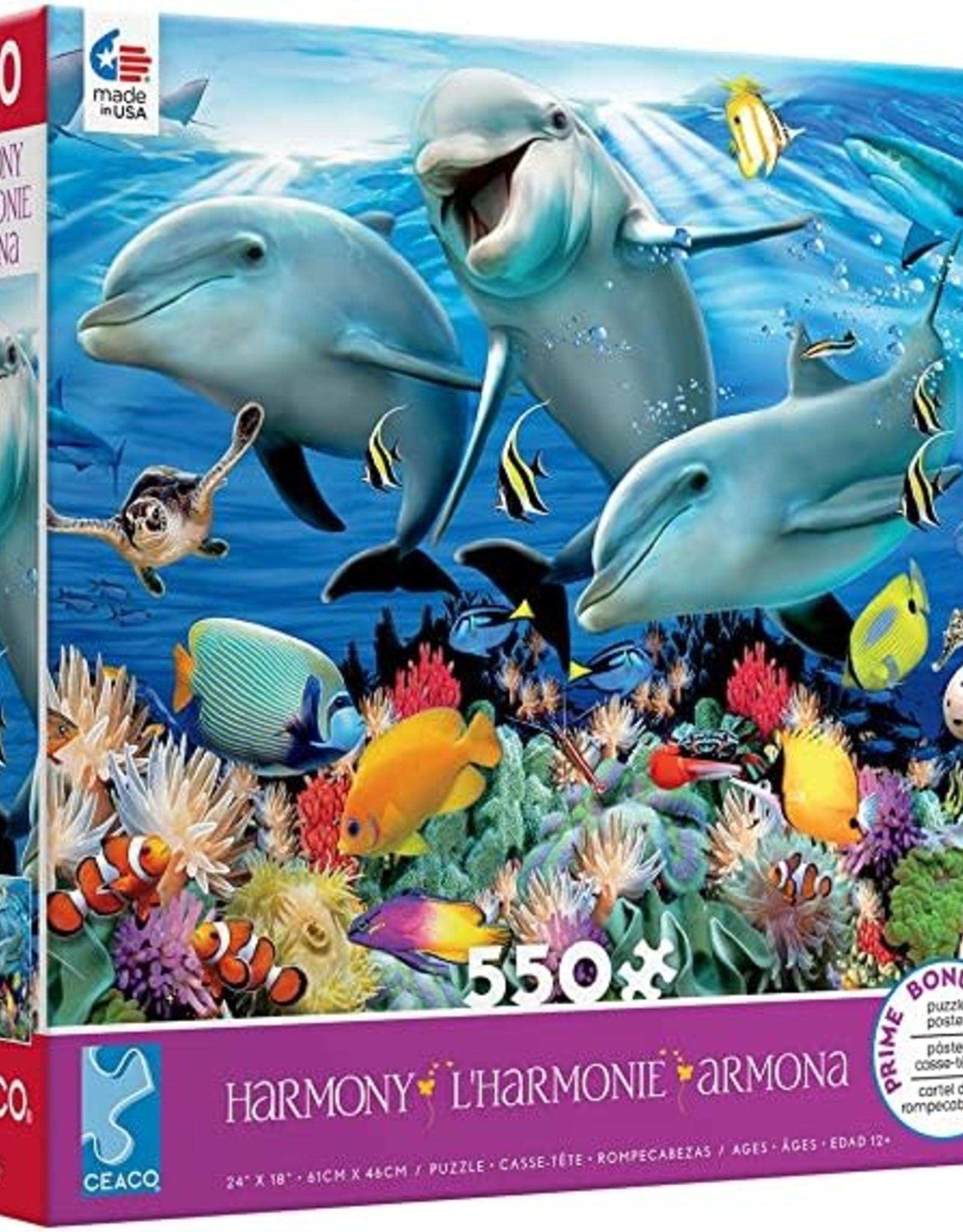 Ceaco 550pc Harmony Dolphins
