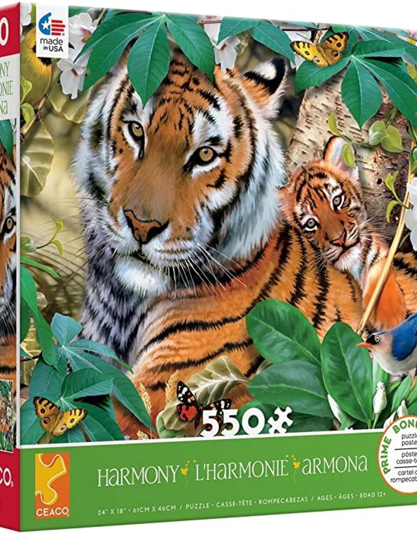 Ceaco 550pc Harmony Tigers