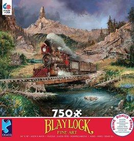 Ceaco 750pc Blaylock Train Red Box