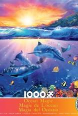 Ceaco 1000pc Ocean Magic Dolphins Sunset