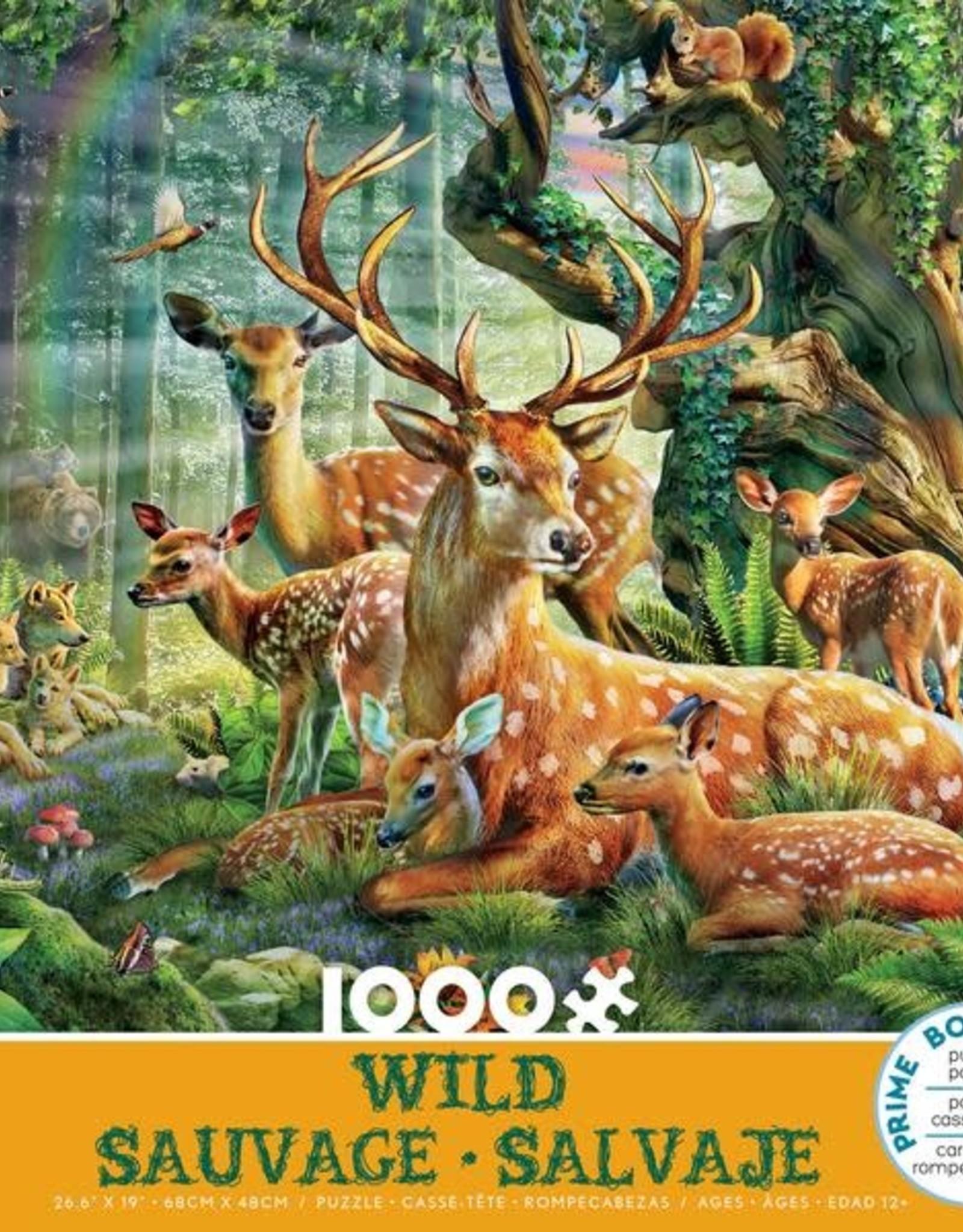 Ceaco 1000pc Wild Deer