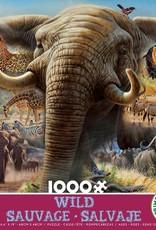 Ceaco 1000pc Wild Elephant