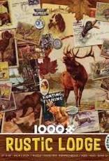 Ceaco 1000pc Rustic Lodge Brown Box