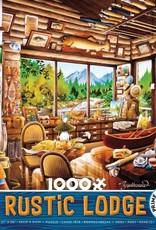 Ceaco 1000pc Rustic Lodge Blue Box