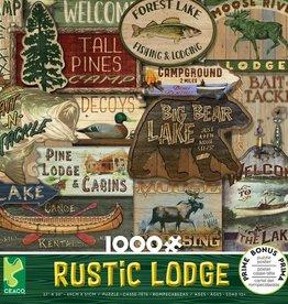 Ceaco 1000pc Rustic Lodge Green Box