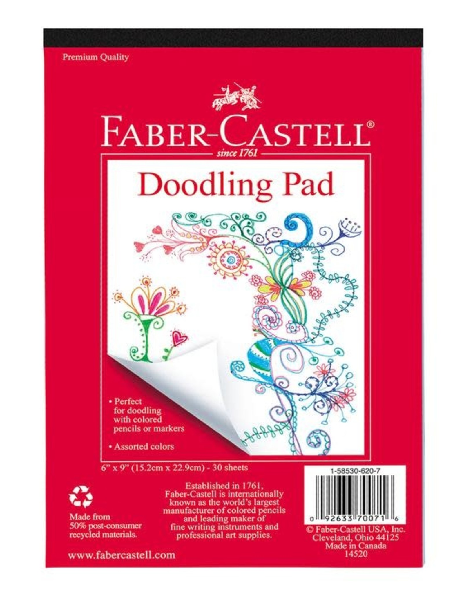 Faber-Castell Art Supply Doodle Pad