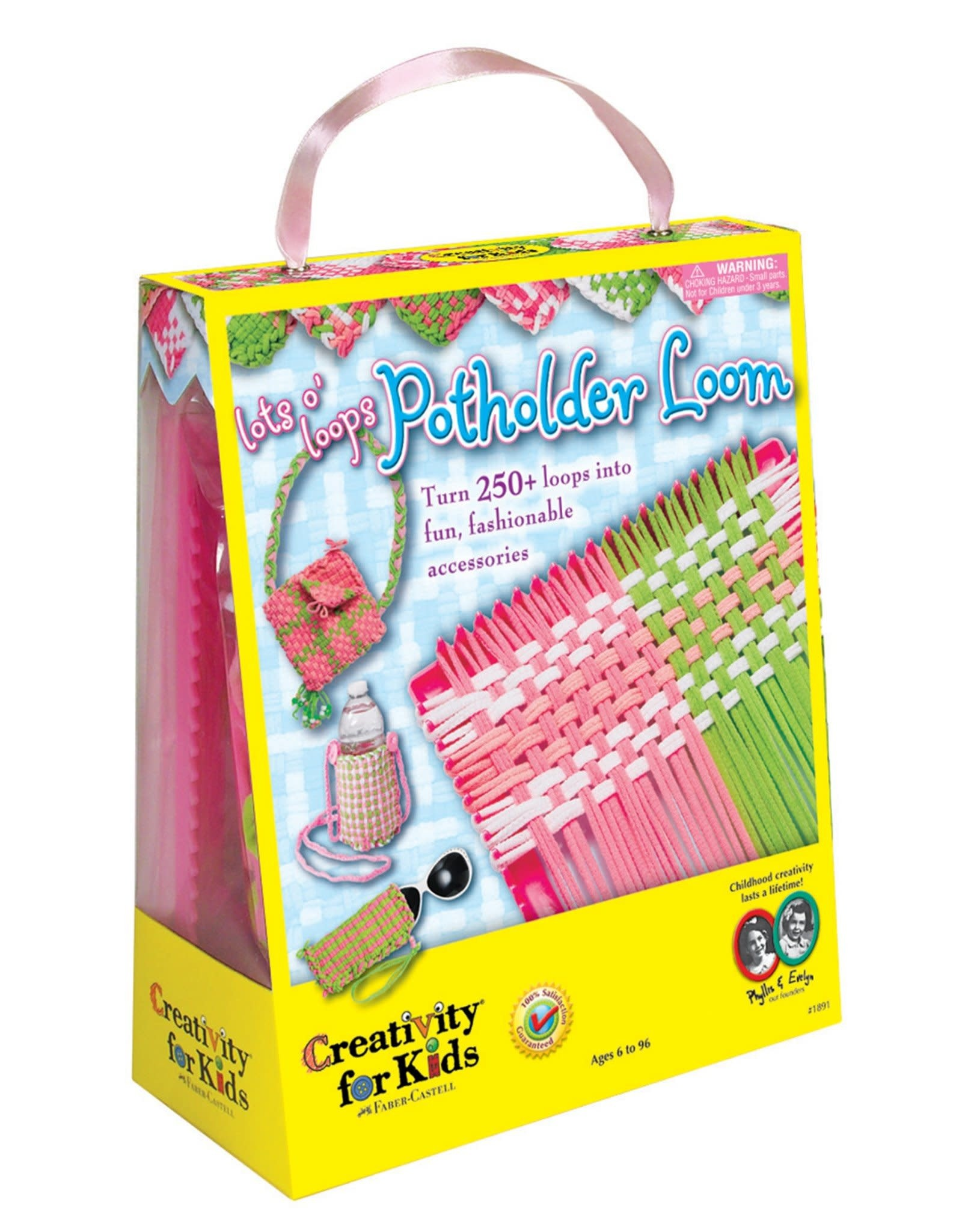 Creativity for Kids Craft Kit Lots o' Loops Potholder Loom