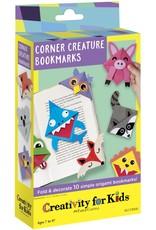 Creativity for Kids Craft Kit Corner Creature Bookmarks