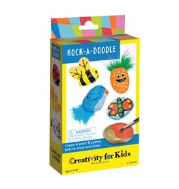 Creativity for Kids Craft Kit Mini -Rock-a-Doodle