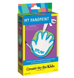 Creativity for Kids Craft Kit Mini -My Hand Print