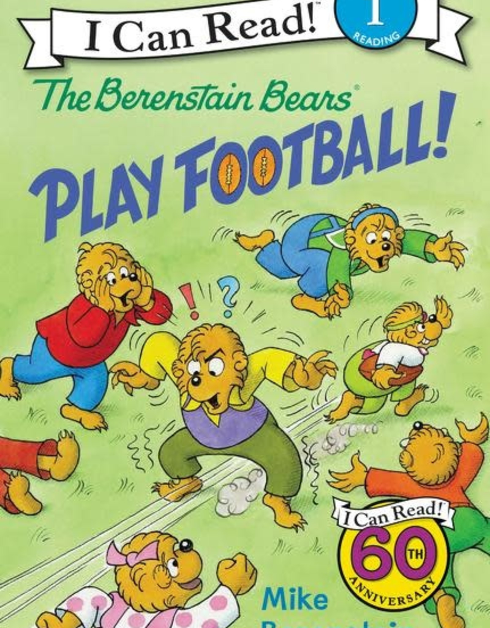 I Can Read! Berenstain Bears Play Football