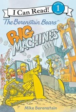 I Can Read! Berenstain Bears Big Machines