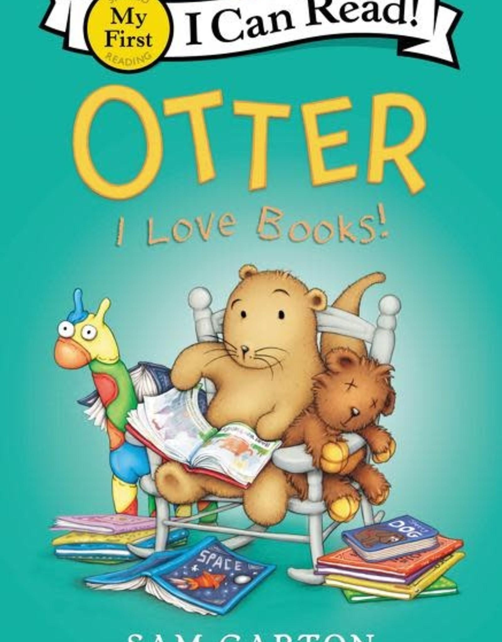 I Can Read! Otter I Love Books