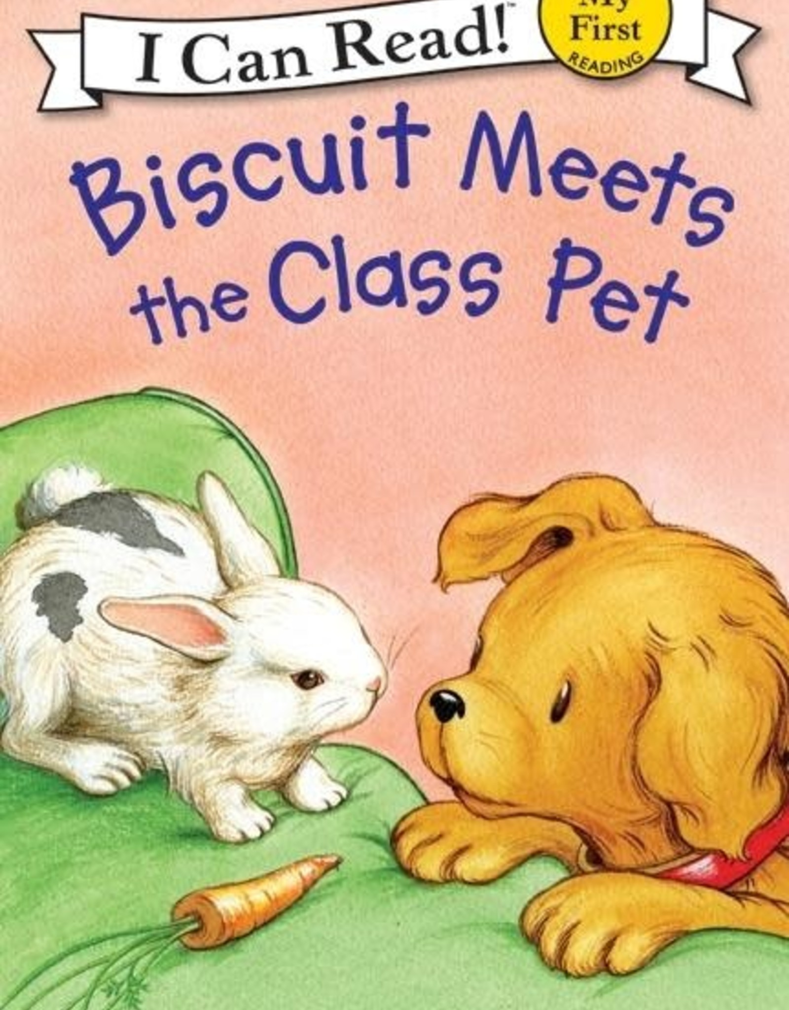 I Can Read! Biscuit Meets Class Pet