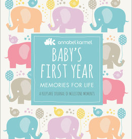 Penguin Random House Baby's First Year Baby Book