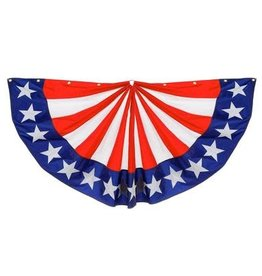 Evergreen Bunting Large Stars & Stripes