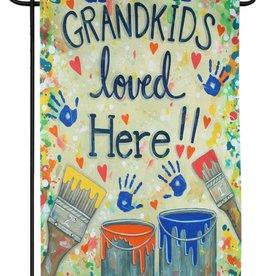 Evergreen EV GF Grandkids Loved Here Paint Handprints