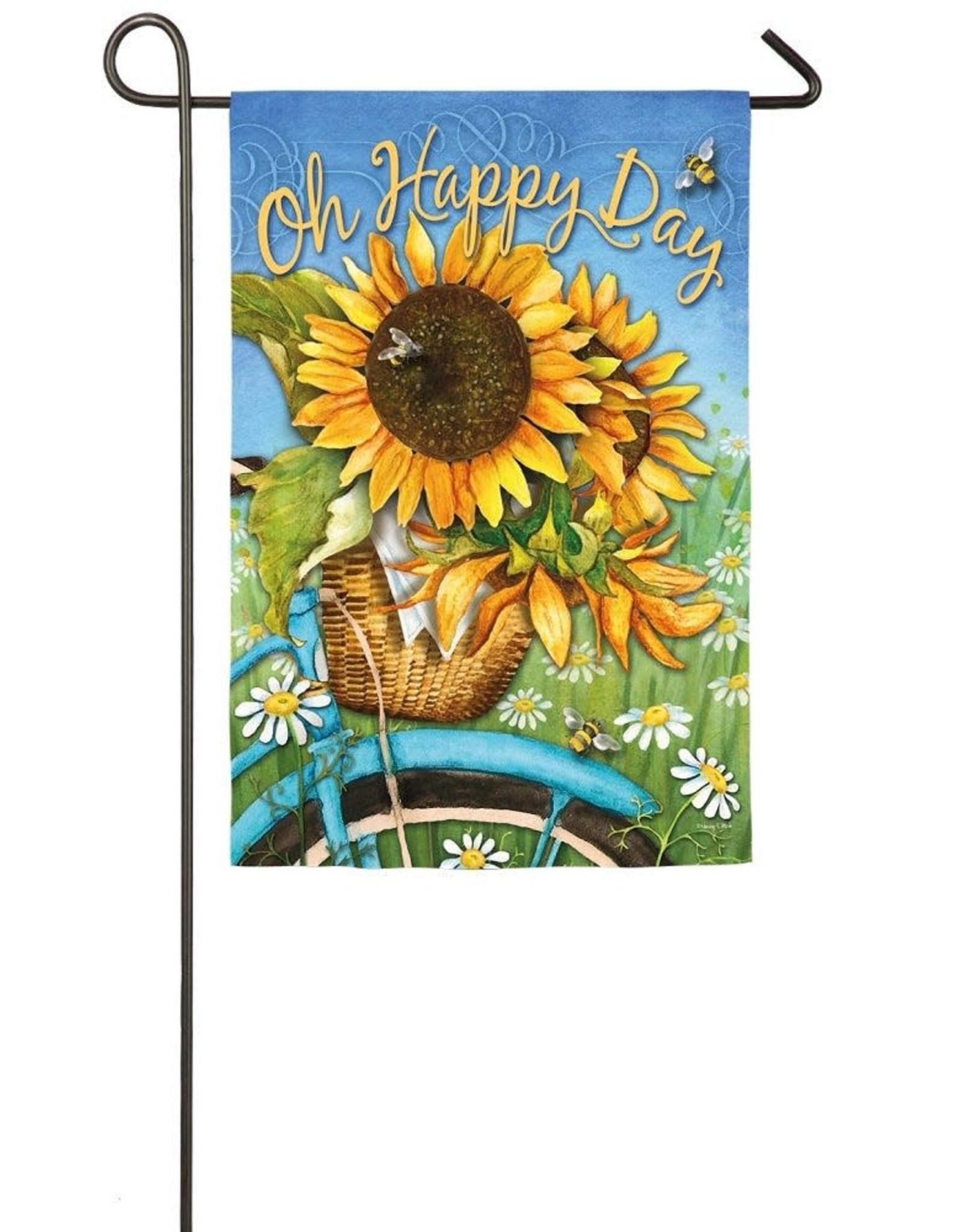 Evergreen EV GF Oh Happy Day Sunflowers