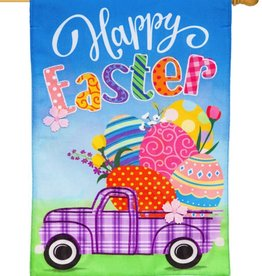 Evergreen EV Happy Easter Truck w Eggs