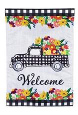 Evergreen EV GF Plaid Truck Floral