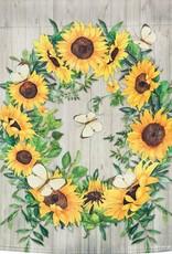 Evergreen EV GF Sunflower Wreath Garden