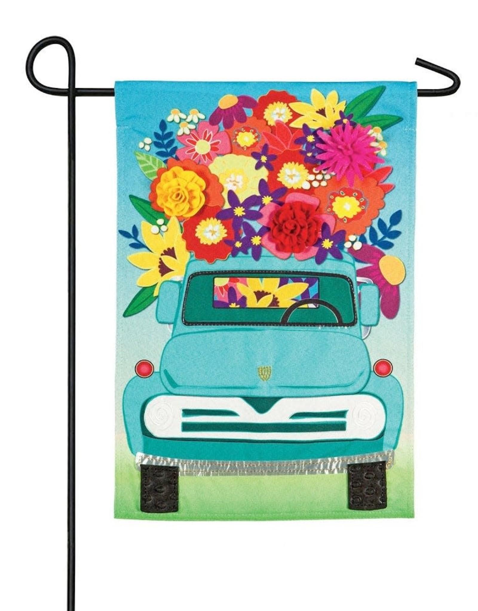 Evergreen EV Mint Flower Truck Linen