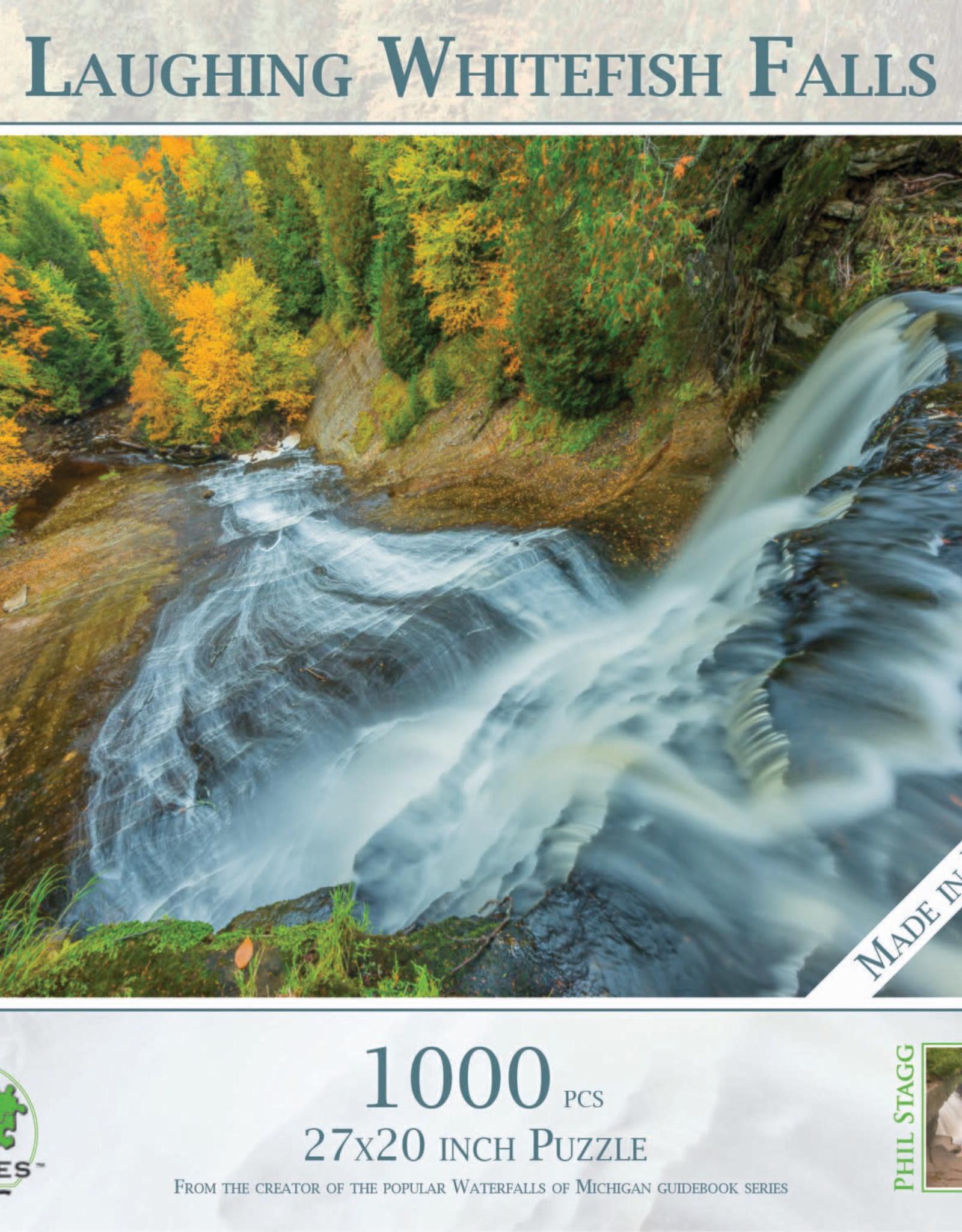 MI Puzzles 1000pc Laughing Whitefish Falls
