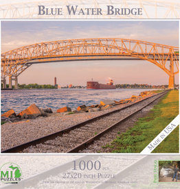 MI Puzzles 1000pc Blue Water Bridge