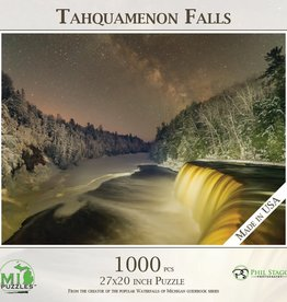 MI Puzzles 1000pc Tahquamenon Falls Milky Way