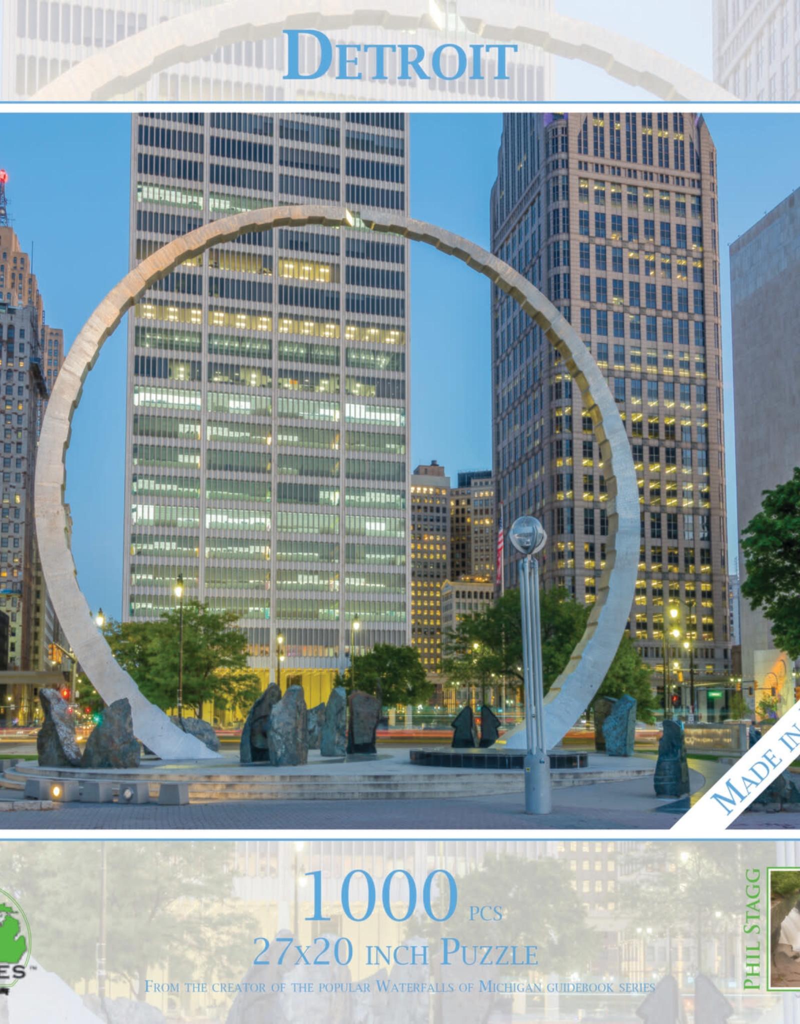 MI Puzzles 1000pc Detroit
