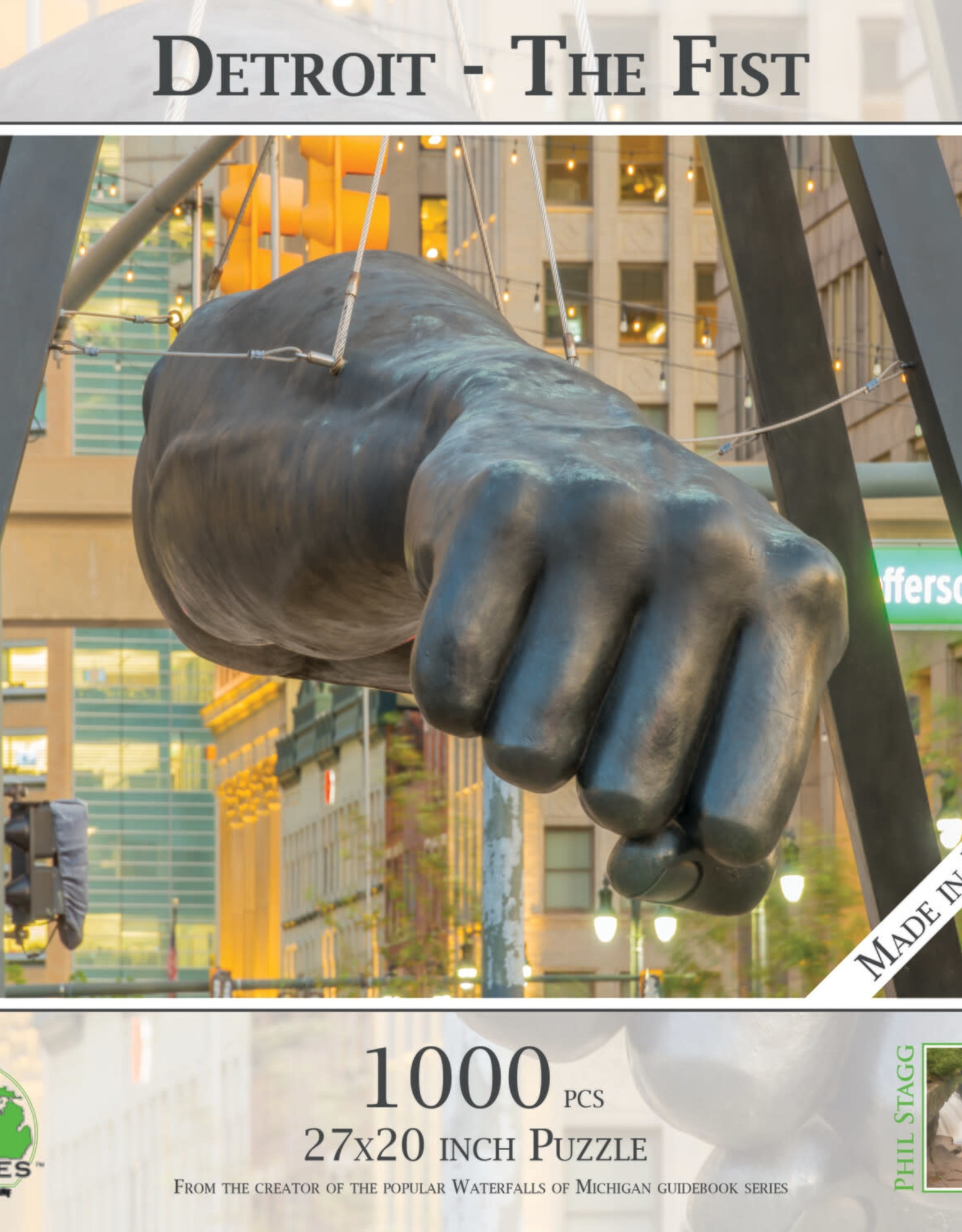 MI Puzzles 1000pc The Fist
