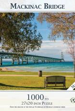 MI Puzzles 1000pc Mackinac Bridge