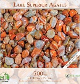 MI Puzzles 500pc Lake Superior Agates