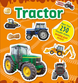 DK Sticker Book Tractor