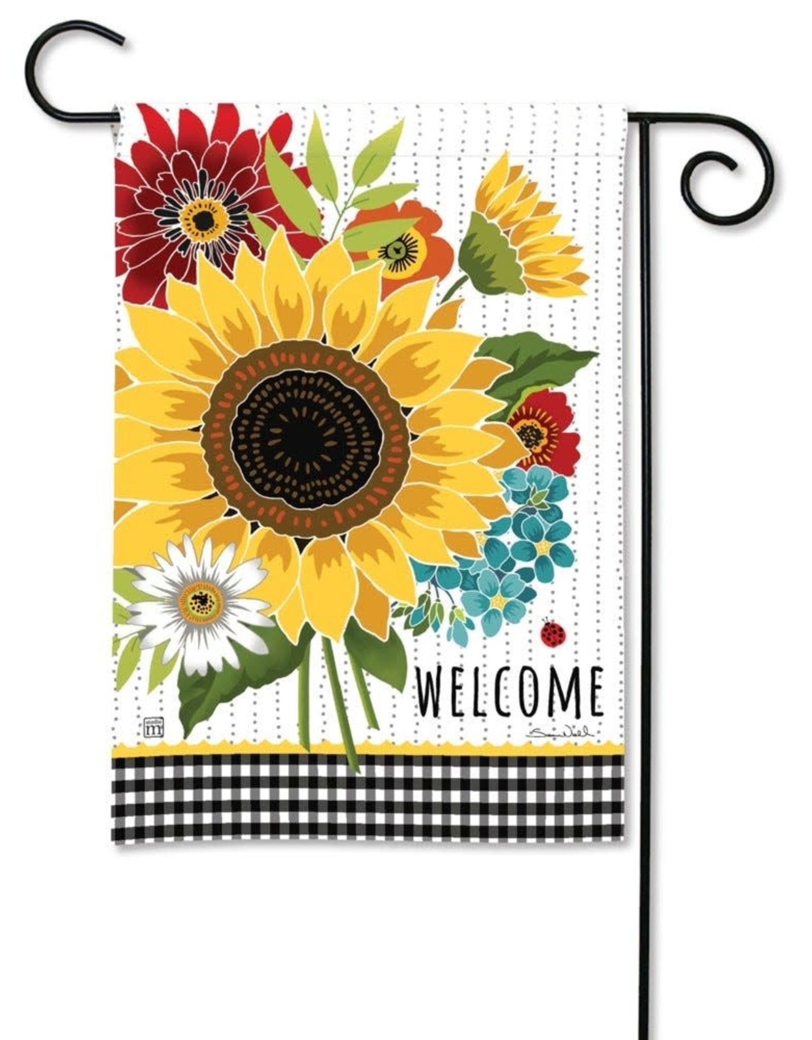 Studio M GF Sunflower Checks