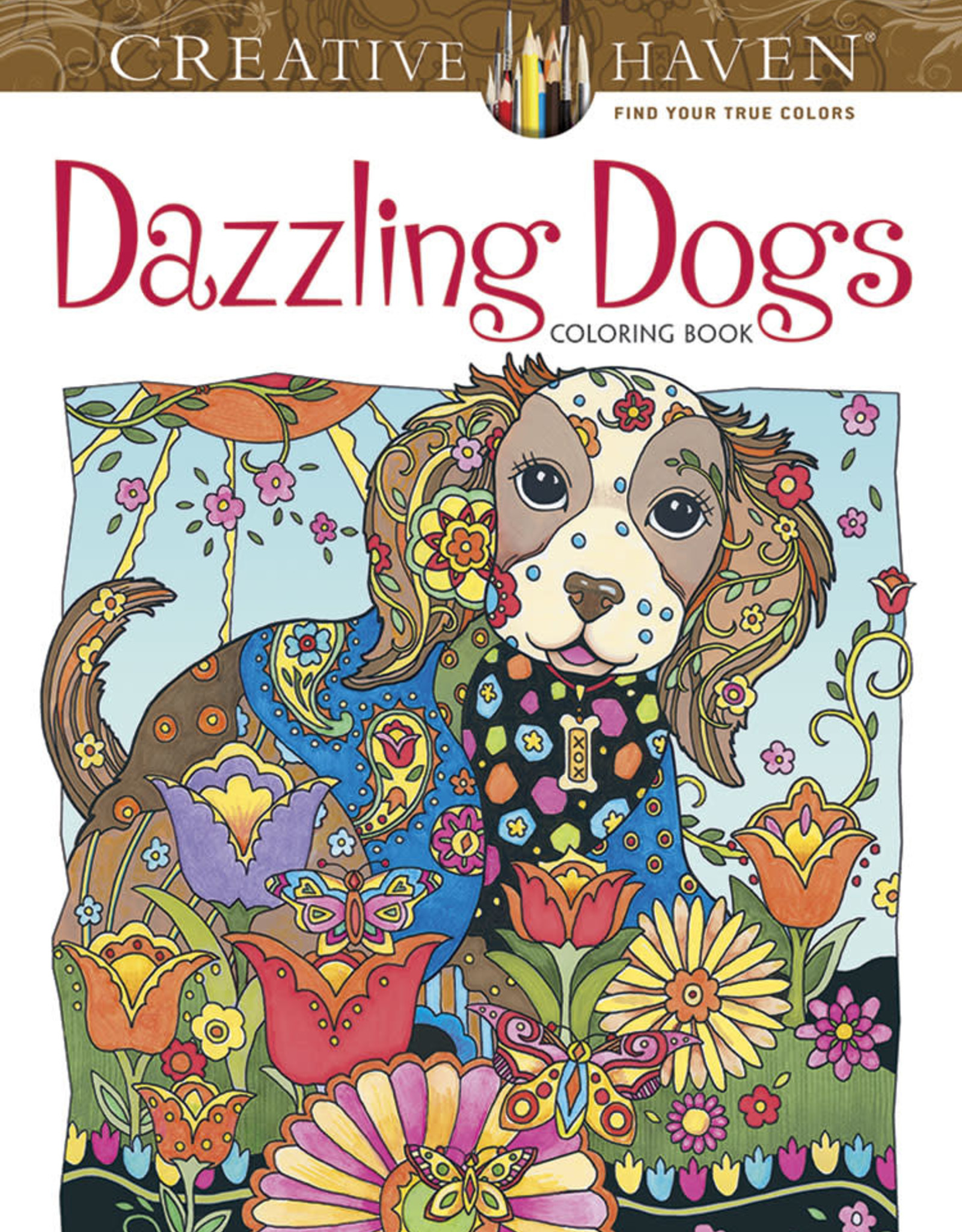 Dover Coloring Book CH Dazzling Dogs