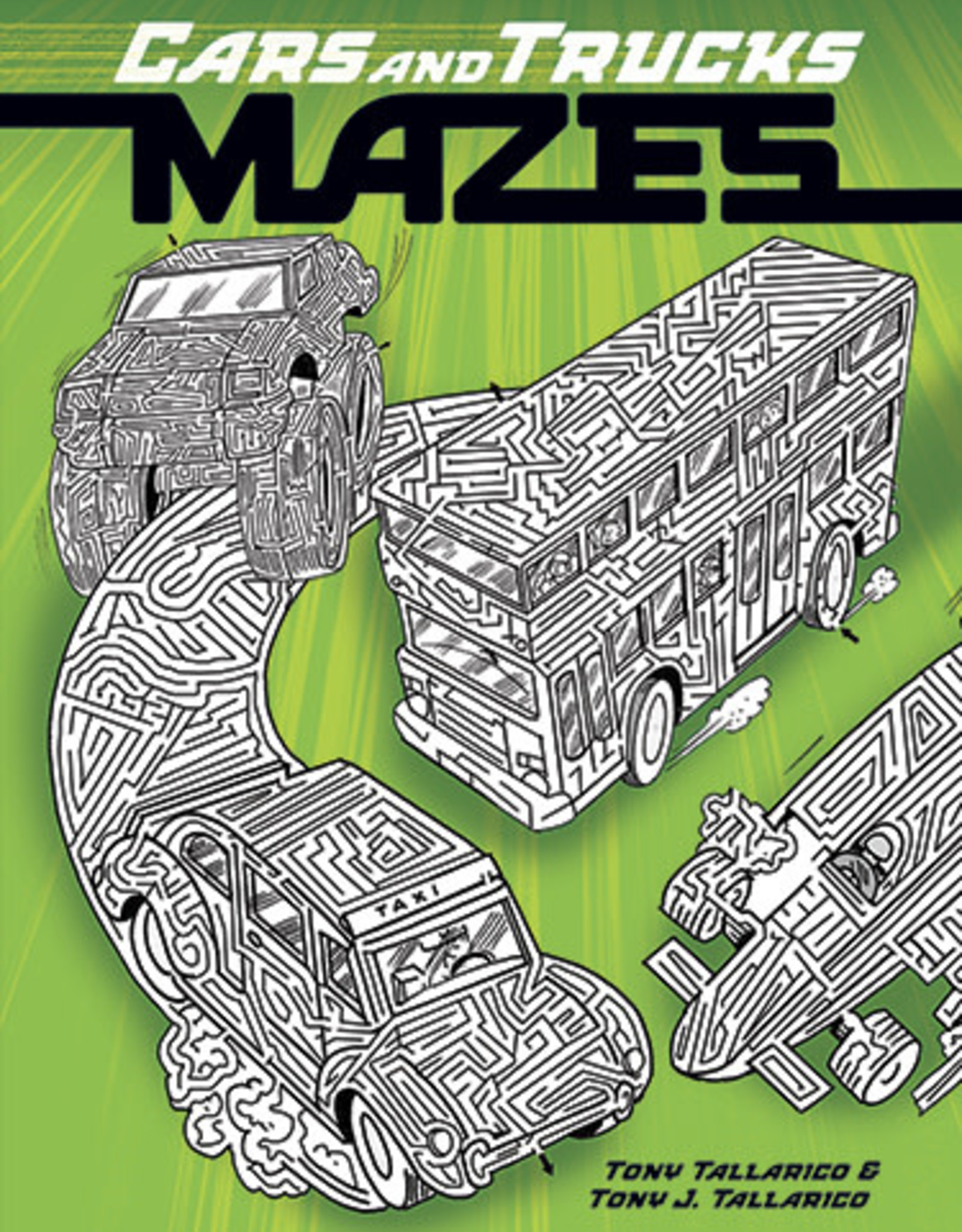 Dover Mazes Cars and Trucks