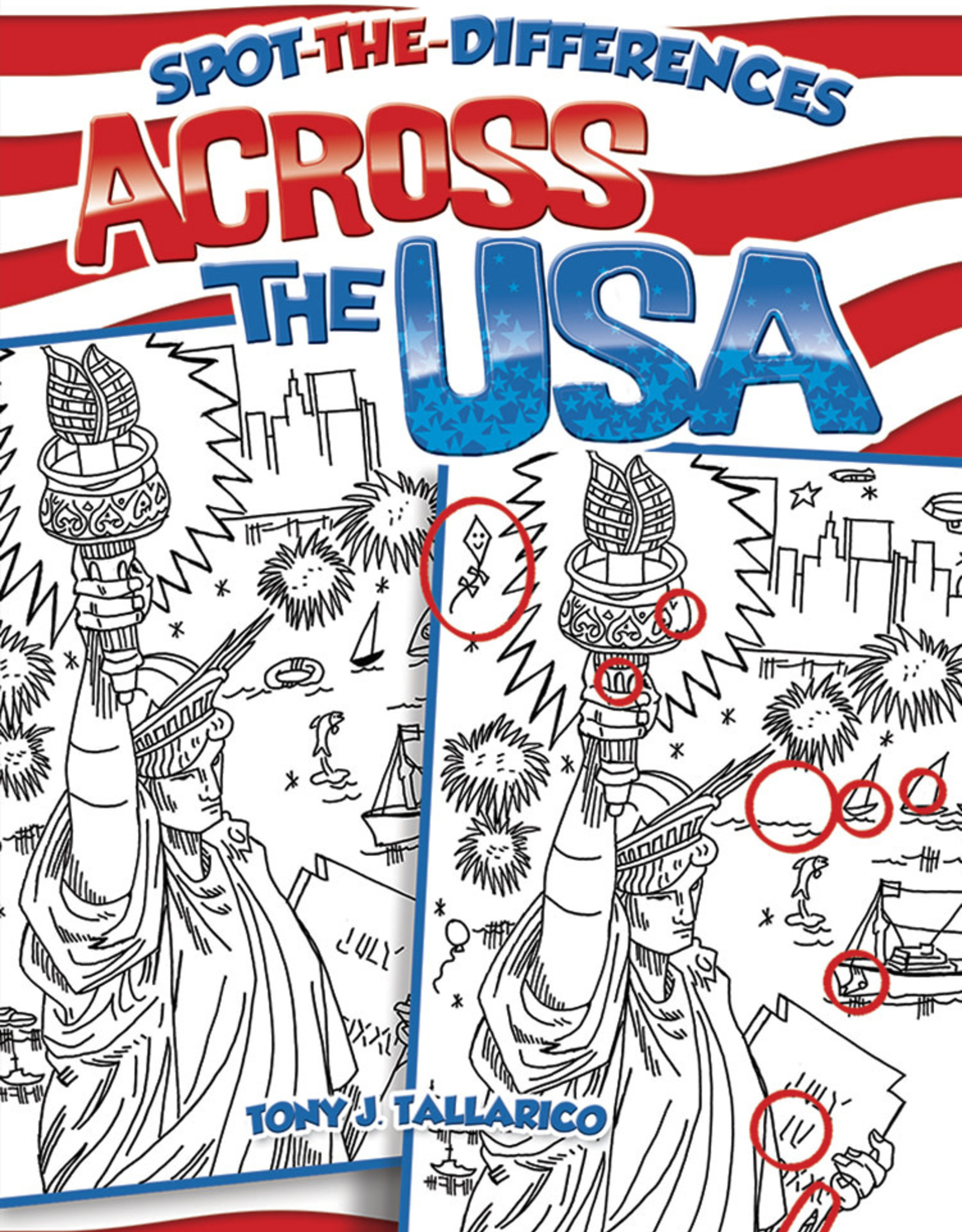 Dover Activity Book USA Spot the Difference